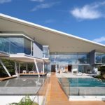 This Modern House In Costa Rica Sits Under A Dramatic Large Angled Roof