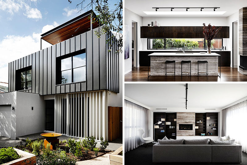 Sisalla Interior Design have recently completed the interior design of a new modern house in Melbourne, Australia, that was built by HEADHOMES.