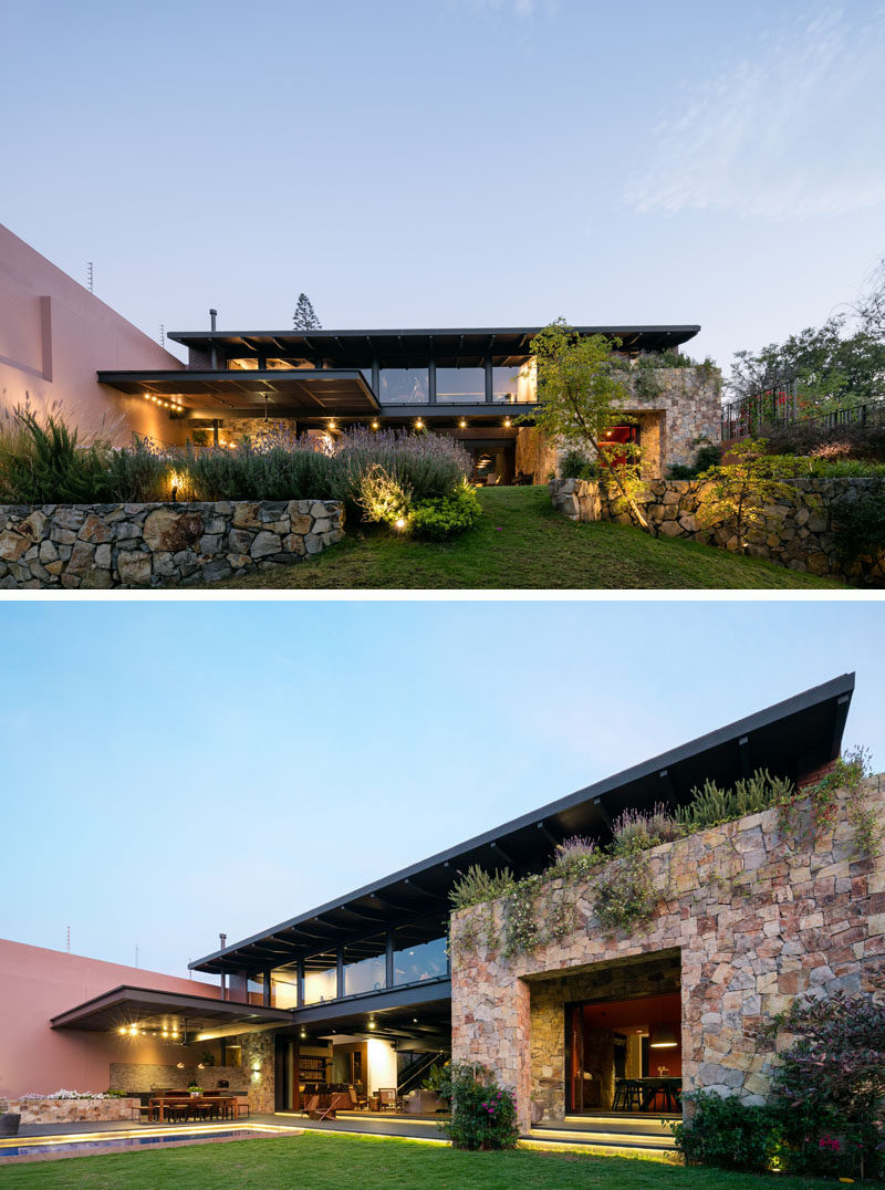This Contemporary House In Mexico Is Surrounded By Nature on home drawing nature, graphic design nature, home art nature, science nature, kitchen design nature, beauty nature, interior design nature, animals nature, holiday nature, fishing nature, diy nature, painting nature, architecture nature, photography nature,
