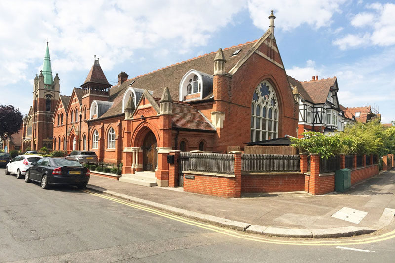 Gianna Camilotti Interiors have transformed a Victorian church in London, England, that has a bright and open interior, and is also available as a rental property. #church
