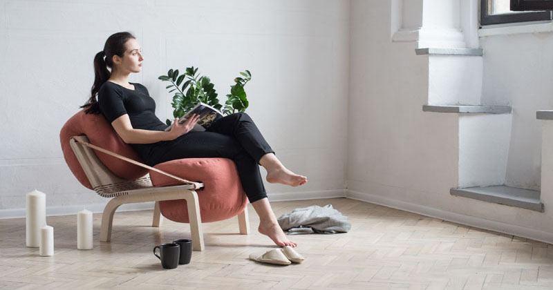 The Dango Armchair Has Cushions That Can Be Removed And Used As Poufs