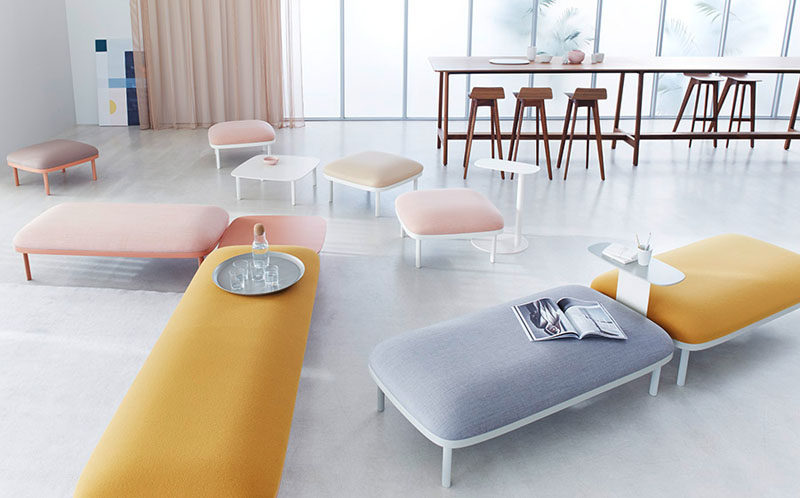 Modular Furniture Collection For Offices