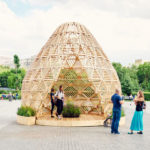This Wood Pavilion Was Designed With References To Early Slavonic Aesthetics