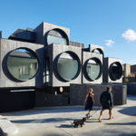 This New Apartment Building In Australia Features An Exterior Of Porthole Windows