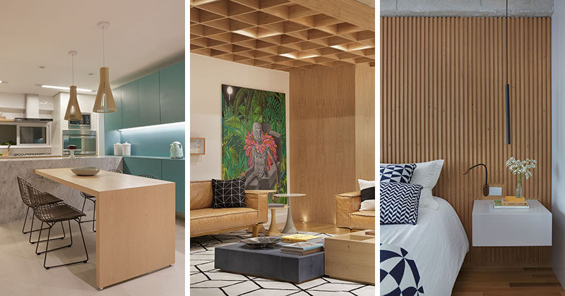 PBK Arquitetura Have Recently Completed The Interior Design Of This Large  Apartment In Rio De Janeiro