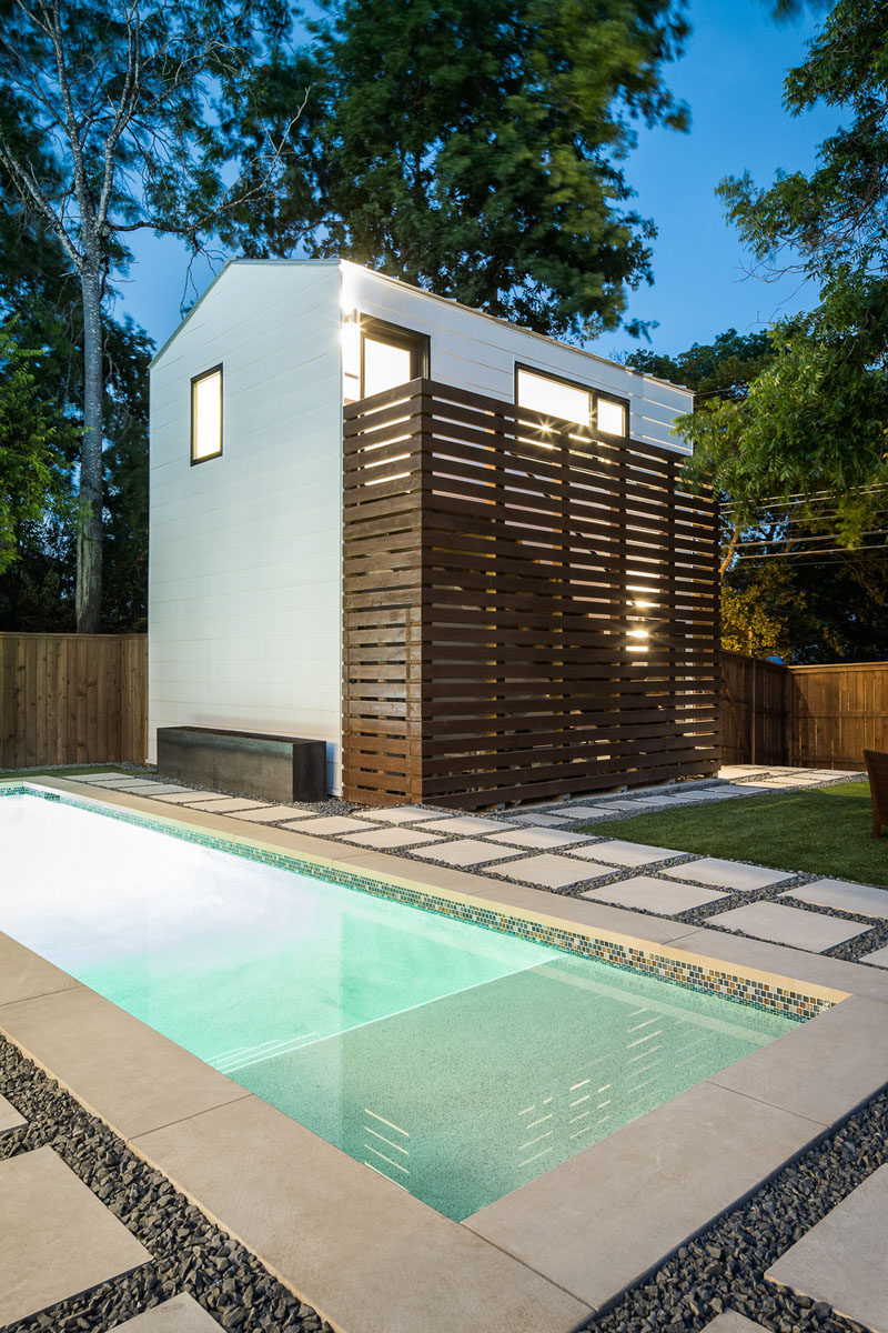 A Detached Guest House Lap Pool And Fire Pit Fill The