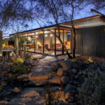 A Horse Barn Has Been Transformed Into A Modern Guest House In Phoenix