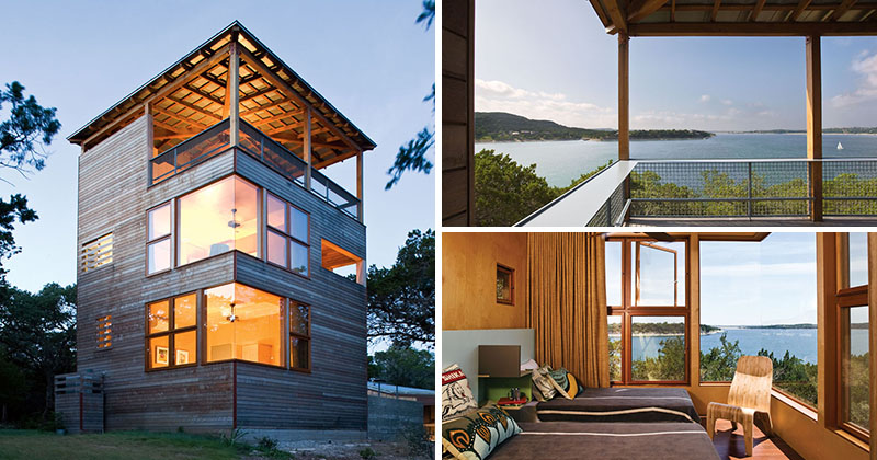 The Tower House by Andersson-Wise Architects