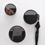 Andréason & Leibel Have Designed Wall Baskets With Diagonal Line Patterns
