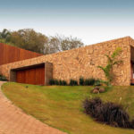 Horizontal Lines Are A Defining Feature Of This Hillside Home In Brazil