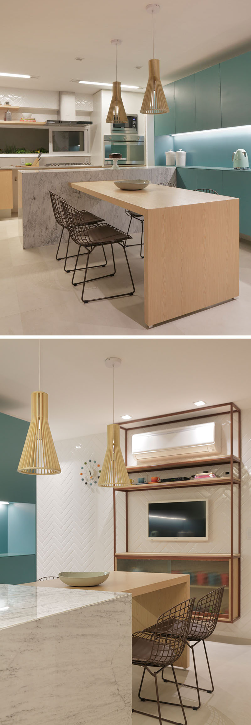 This Brazilian Apartment S Interior Design Features Wood Accents Throughout