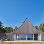 This Vacation Home With A Distinctive Tent-Like Roof Sits On A Small Island In Sweden