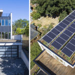 Solar Panels And A Green Roof Were Included On Top Of This New House In Seattle