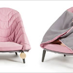 This Chair Allows Its User To Wrap Up And Get Comfortable