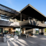 Greg Wright Architects Designed The Renovation Of This Home Using Dark Interior/Exterior Elements