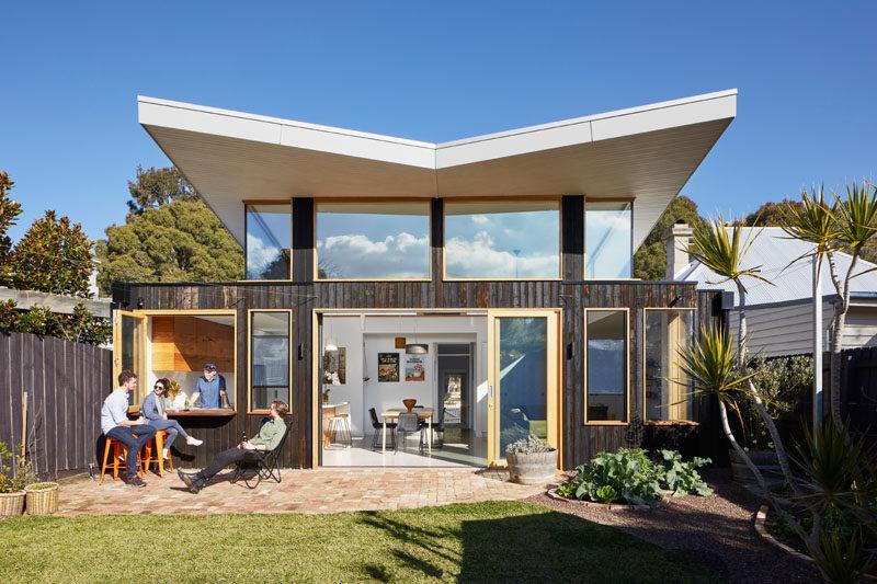 Modern Farmhouse Exterior One Story Brick