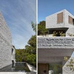 This House Makes Extensive Use Of Granite Throughout Its Design