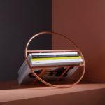 Umbra Shift Have Designed A Hoop-Shaped Minimalist Magazine Rack