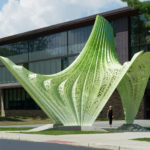 582 Aluminum Pieces And 10,082 Rivets Have Been Used To Create This New Sculpture In Rhode Island