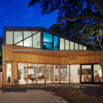 A New Addition With A Deck Was Built For A 1920s House In Texas