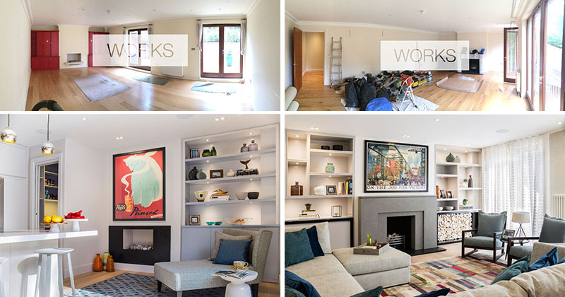 Before & After - A Contemporary Renovation For A Family Townhouse In London