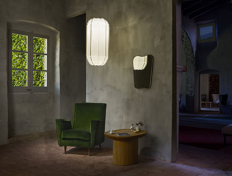 Egbert-Jan Lam of Netherlands-based Burojet Design Studio has designed and 'embroidered' a new family of lamps for Spanish lighting manufacturer, LZF. #ModernLighting #PendantLights #Lamps