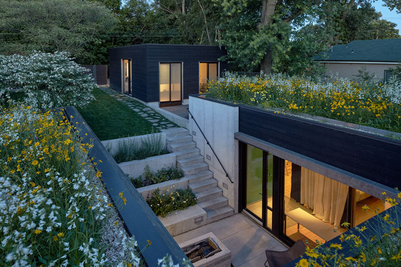 A Lush Green Roof Covers This Home In Missouri