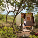 "The ""Outside House"" Straddles A 300 Year Old Lava Flow On Maui"