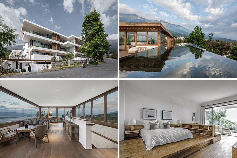Yueji Architectural Design Office have recently completed the Pure House Boutique Hotel, located inDali, a city in China's southwestern Yunnan province. #ModernHotel #China #Travel