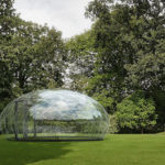 The Design Of This Transparent Outdoor Structure Was Inspired By A Drop Of Water