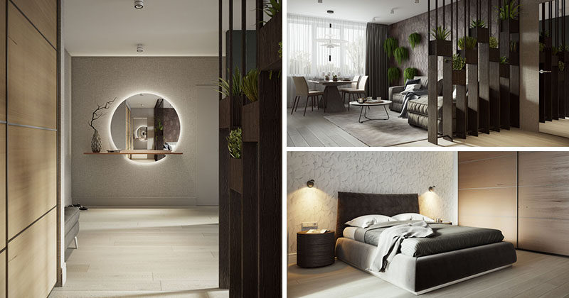 buro108 have designed a contemporary interior for an apartment in moscow contemporist. Black Bedroom Furniture Sets. Home Design Ideas