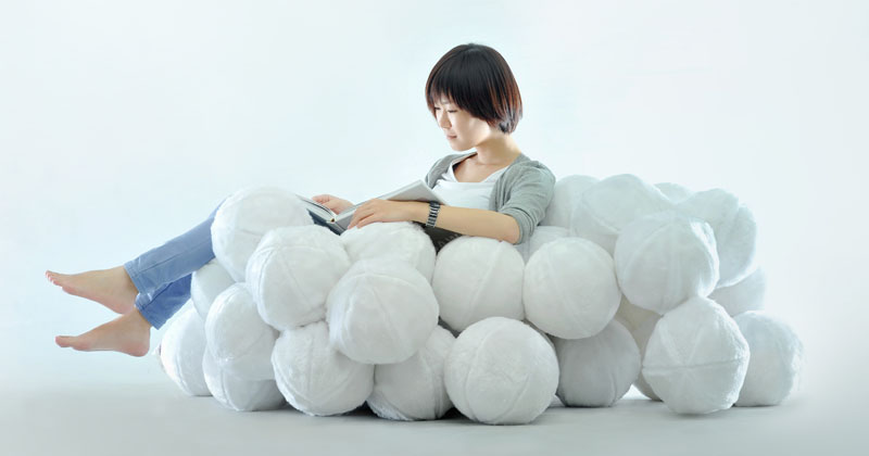 The Daydreamer Sofa Was Inspired By Clouds