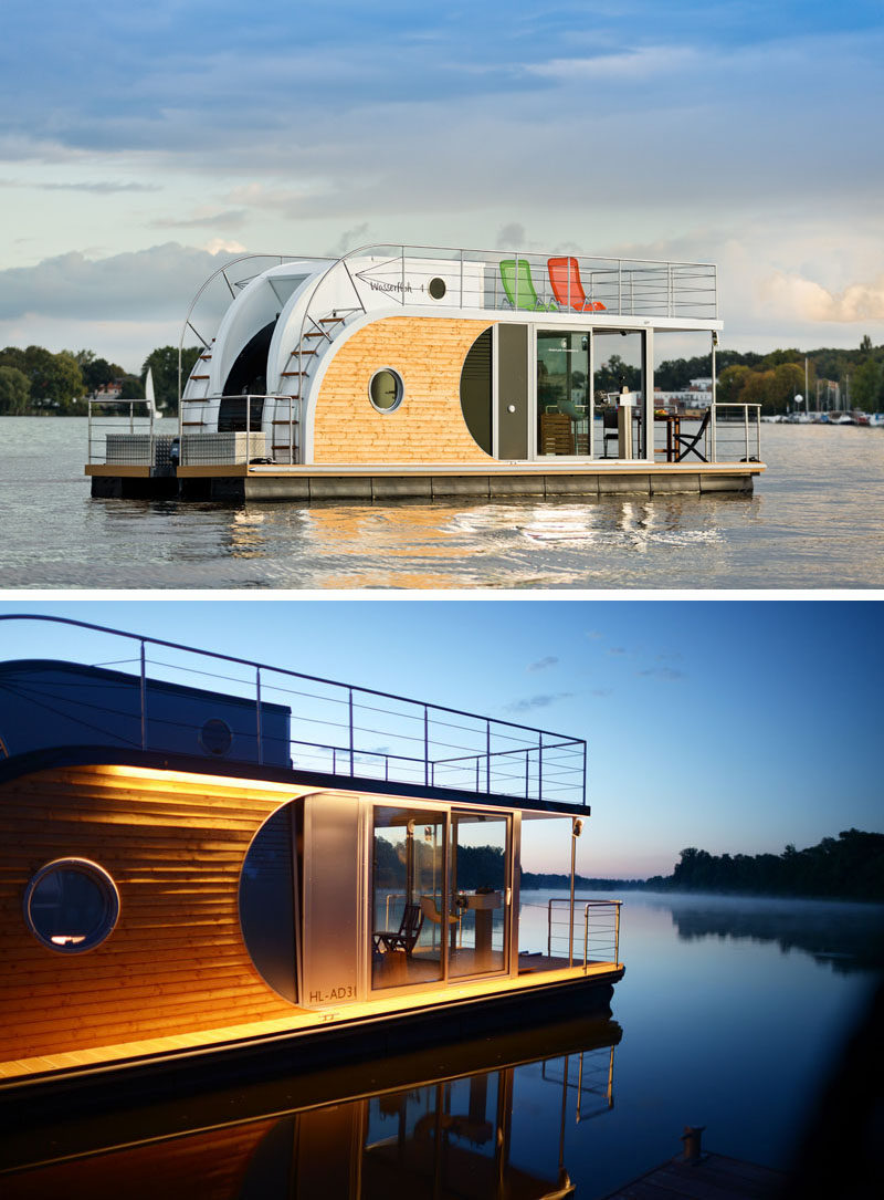The Nautino Maxi Houseboat Makes A Statement On The Water