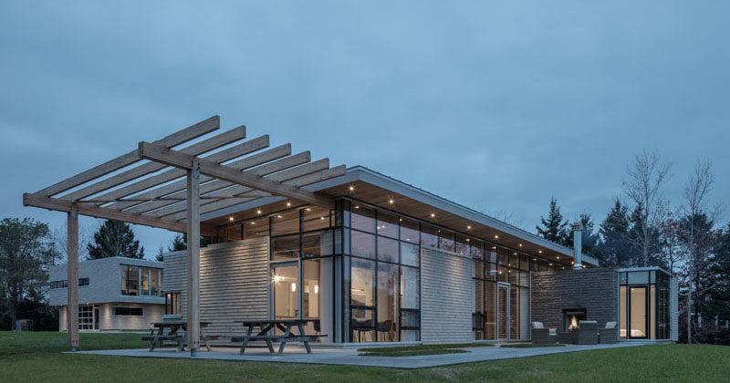 FBM Design A New House To Sit Beside The Ocean In Nova Scotia ...