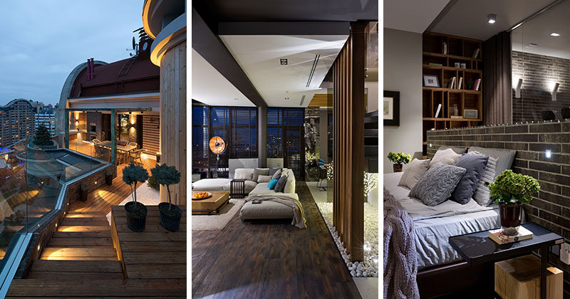 Natalia Oleksienko Of Evolutionary Architecture Has Designed The Interiors  Of A Modern Penthouse Apartment In Kiev