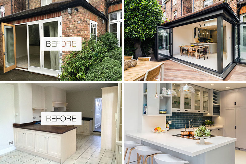 LLI Design have recently completed the refurbishment of3 storey Victorian townhouse on a leafy residential road in Highgate, a residential area of North London. #Renovation #InteriorDesign