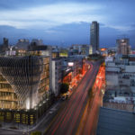 272 Metal Fins Are Featured Throughout This New Commercial Building In Mexico City Designed By Belzberg Architects