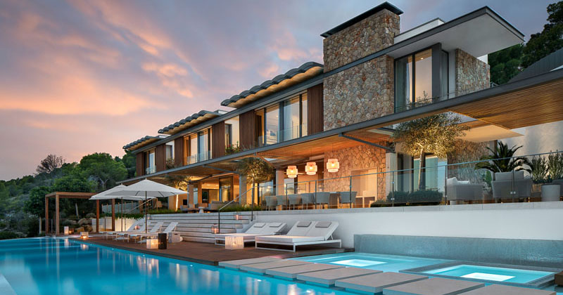 SAOTA Have Recently Completed Their First House In Mallorca, Spain