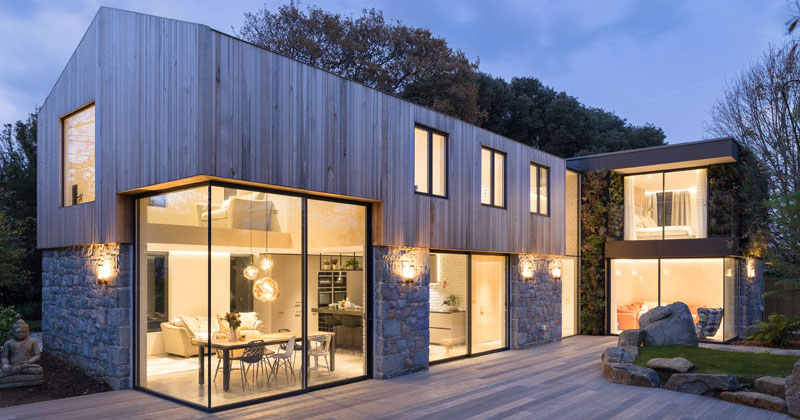 A New Home Of Stone And Wood Arrives On The Island Of Guernsey