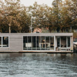 This Modern Floating Villa Found A Place To Call Home On A River In The Netherlands