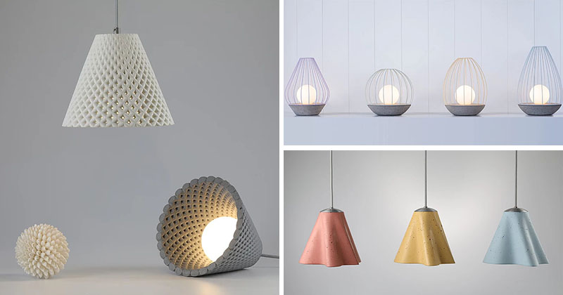 Three New Concrete Lighting Collections By Ardoma Design Contemporist