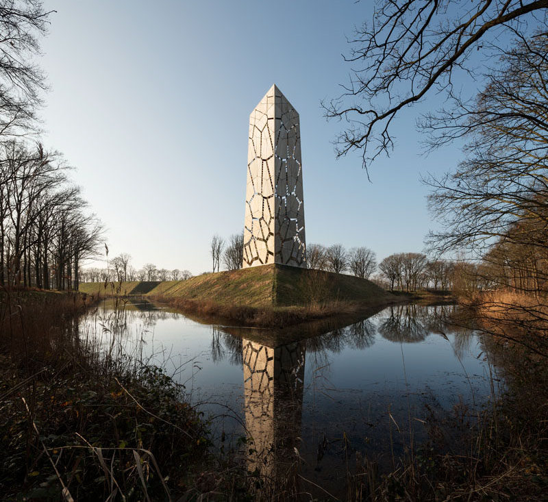 Pompejus Is An 85 Foot Tall Watchtower That Acts As An Open-Air Theatre And An Information Point For Tourists In The Netherlands