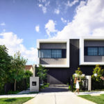 Jamison Architects Have Designed A Contemporary Duplex With Concealed Garages And An Open Plan Interior