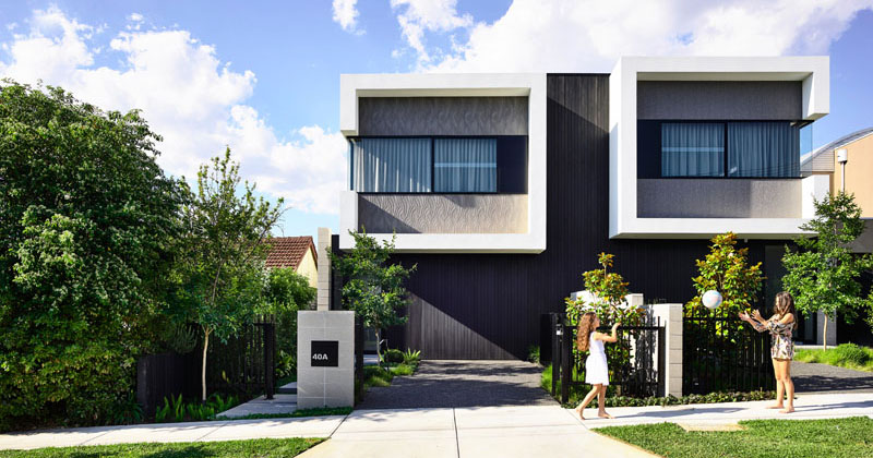 Jamison Architects Have Designed A Contemporary Duplex