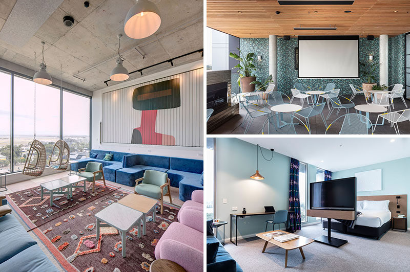 The felix hotel in sydney has recently opened its doors for Interior design agency sydney