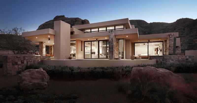 Villa At Danzante Bay By Kevin B Howard Architects