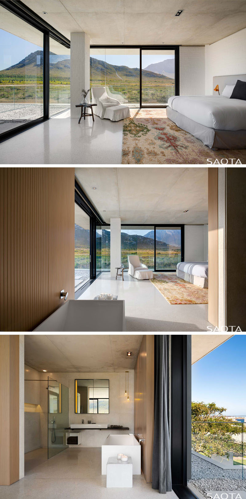 master bedroom design images the restio river house by saota has views of the 16038