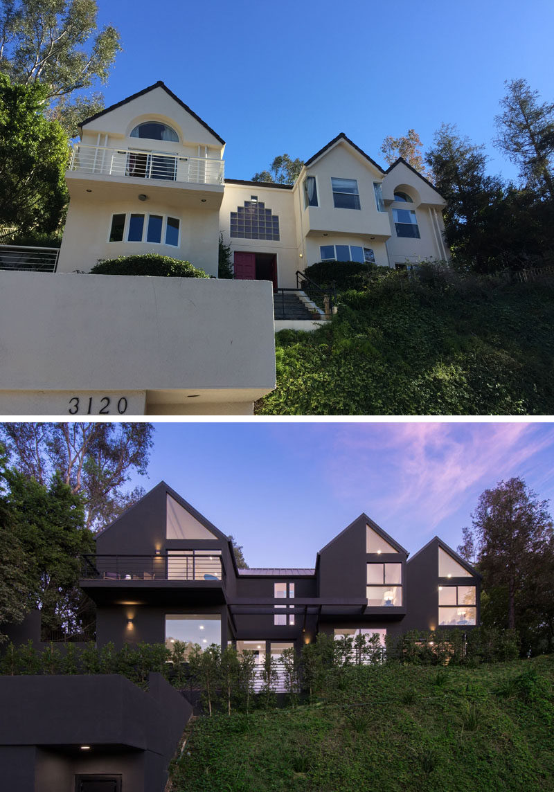 Before And After The Hollyridge House Renovation By Aux