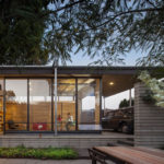 The Grasshopper Studio And Courtyard By Wittman Estes