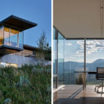 Design Detail – This House In Wyoming Has A Cantilevered Home Office